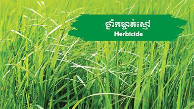 Herbicide-Menu